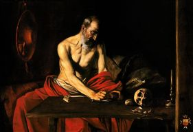 caravage st jerome