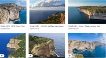 dingli cliffs ggle screen